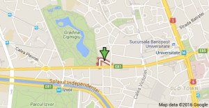 Harta locatie sala